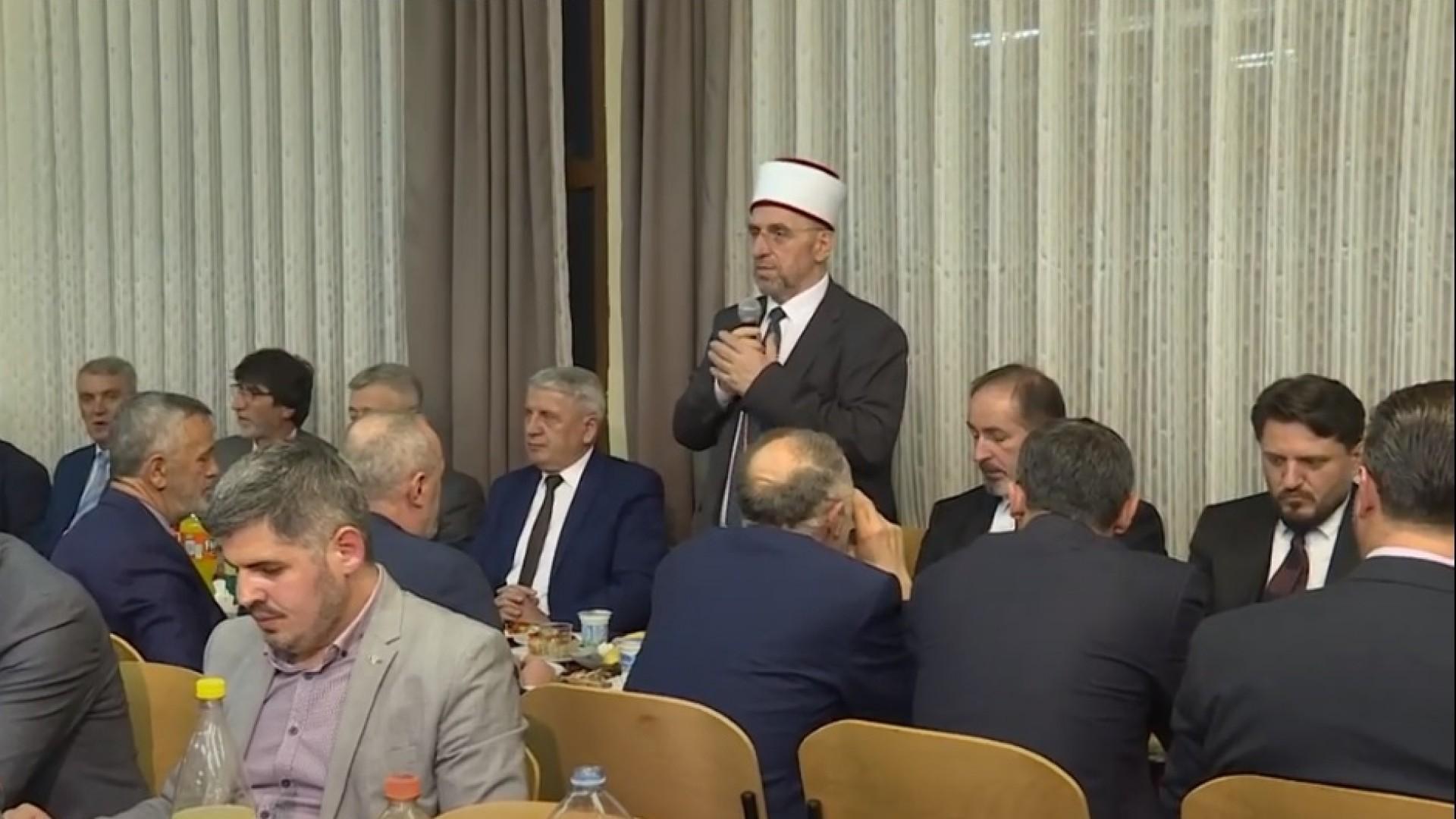 Myftiu Tërnava shtron iftar për administratën e Këshillave të Bashkësisë Islame